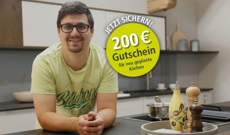 200 Euro-Kundenaktion bei Micheli Küchen